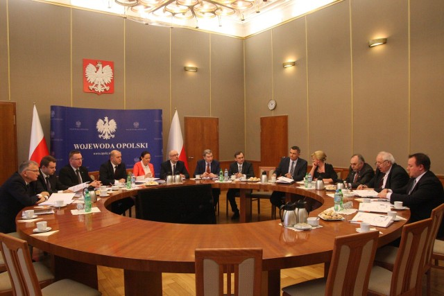 Opolscy posłowie spotkali się w Urzędzie Wojewódzkim.