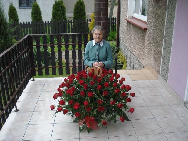 Feliksa Hrabia z Czubrowic skończyła sto lat. Energiczna i radosna wspomina dawne czasy