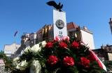 Grudziądzanie uczcili 86. rocznicę śmierci marszałka Józefa Piłsudskiego [zdjęcia]