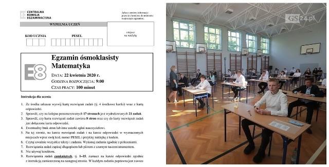 Egzamin ósmoklasisty 2020 - ODPOWIEDZI w środę na GS24.pl! Zdjęcia z Centrum Mistrzostwa Sportowego w Szczecinie z wtorku.