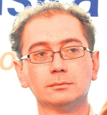 Łukasz Tyszler, kandydat na prezydenta Szczecina z ramienia PO.