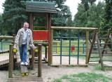 Włodzimierz Słodowicz z Ciechocinka od lat jako emeryt prowadzi zespoł taneczny.