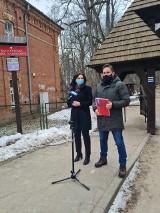 Białowieża. Posłowie Lewicy przeciw wycinaniu drzew w Puszczy Białowieskiej. Chcą by cała Puszcza była parkiem (zdjęcia)