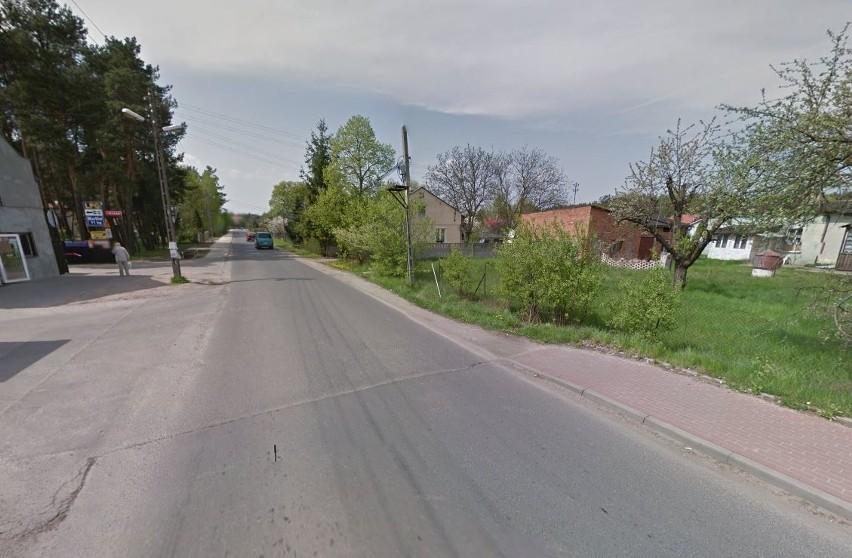 Posesja w rejonie skrzyżowania ulic Tuszyńskiej i Hanki...