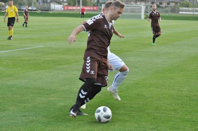 Krzysztof Szewczyk strzelił zwycięskiego gola w Stargardzie