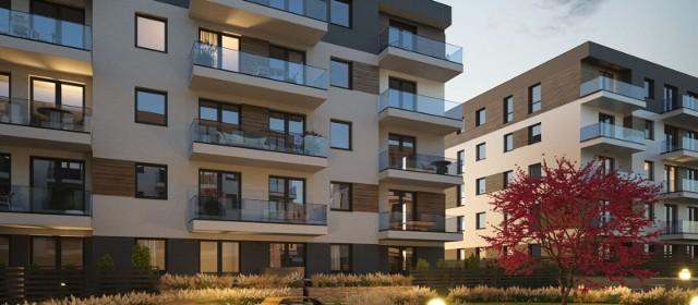 W  nowych budynkach wielorodzinnych, które są budowane w Krzeszowicach ma powstać docelowo 344 mieszkania i lokale użytkowe