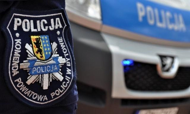Policyjny patrol zatrzymał w gminie Kołczygłowy motocyklistę. Okazało się, że 55-latek jest pijany.