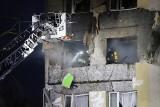Zabrze. Wybuch gazu w bloku. Eksplozja wyrzuciła mężczyznę z płonącego mieszkania