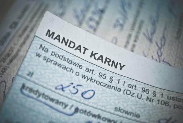 Jest nowy mandat! Można ponieść karę za złe warunki sanitarne w pojeździe.