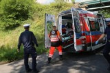 Atak nożownika w Tychach. 22-latek rzucił się na trzy osoby, gdy wychodziły z ogródków działkowych