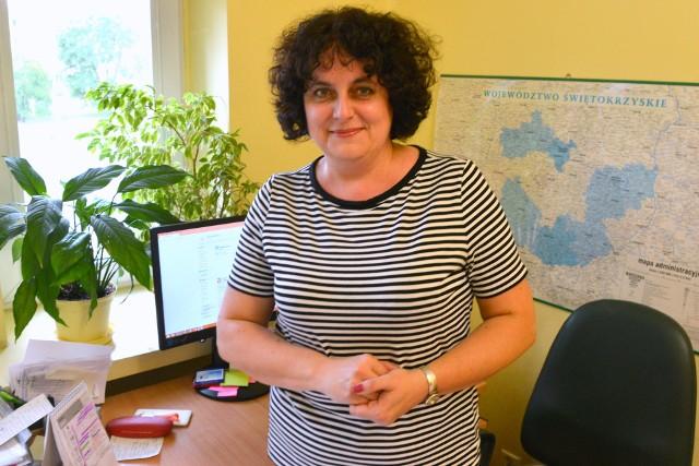 Ilona Gładysz – Pięta, kierownik Oddział Higieny Żywności, Żywienia w Wojewódzkiej Stacji Sanitarno-Epidemiologicznej w Kielcach