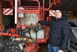 W rodzinnym gospodarstwie Tomasza Palki w miejscowości Orzeszków Kolonia, województwo łódzkie [zdjęcia]