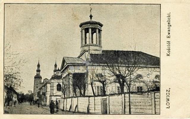 Dawny kościół ewangelicki w Łowiczu