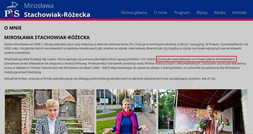 Oficjalna strona Prawa i Sprawiedliwości we Wrocławiu