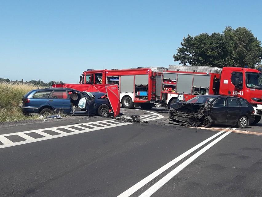 Do wypadku doszło ok. godziny 13 w poniedziałek na trasie w...