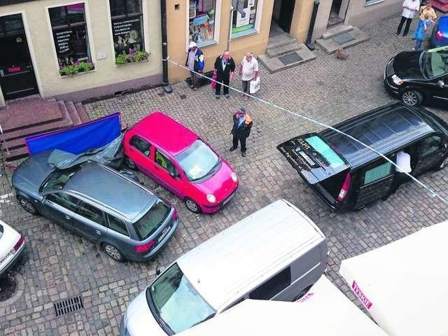 Tragedia na ulicy Szczytnej wydarzyła się w szczycie sezonu wakacyjnego Fot.: Grzegorz Olkowski