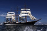 """Władze Estonii nie wpuściły rosyjskiego żaglowca """"Siedow"""". Statek skierował się do Gdyni, ale nie dostał pozwolenia na wpłynięcie do Polski"""