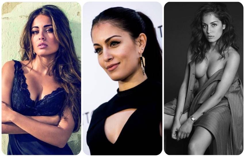 Hiba Abouk to hiszpańska modelka i aktorka tunezyjskiego...