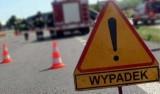 Mszalnica wypadek. Zderzenie ciężarówki z motocyklem na drodze krajowej Nowy Sącz – Grybów. Jedna osoba jest ranna
