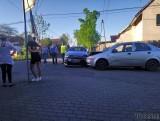 Wypadek w Kępie. Zderzenie chevroleta z citroenem na skrzyżowaniu ulicy Luboszyckiej z Wróblińską [ZDJĘCIA]