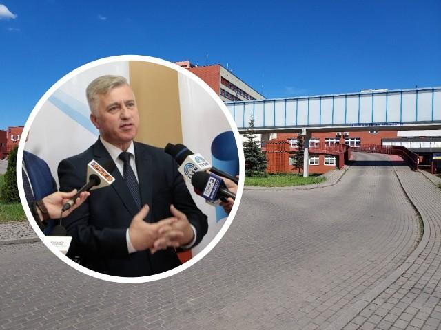 Maciej Hoppe, dyrektor szpitala w Grudziądzu: -  - Postawiliśmy sobie za cel, aby rozpocząć normalną działalność od 7 czerwca i jest to termin realny, ale zobowiązuje nas do wzmożonych działań.