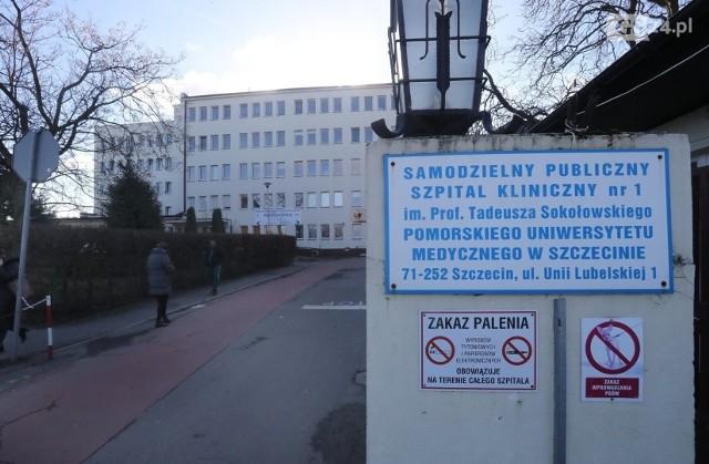 Szpital przy Unii Lubelskiej w Szczecinie