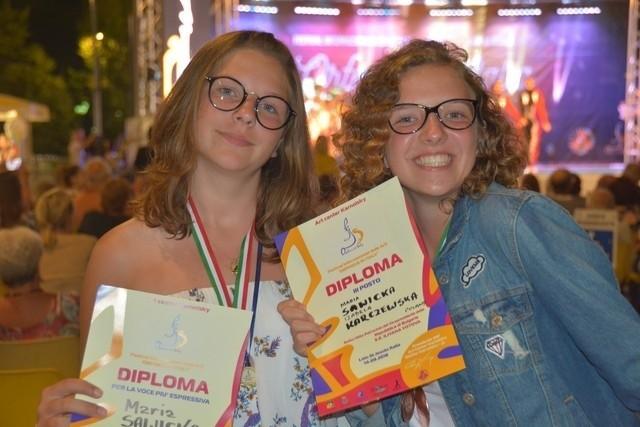 Podlasianki laureatkami międzynarodowego festiwalu Piosenki i Tańca we Włoszech! Dziewczyny zajęły III miejsce