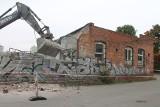 Toruń. Fabryka Cierpiałkowskich z Chełmionki legła w gruzach [zdjęcia i film]