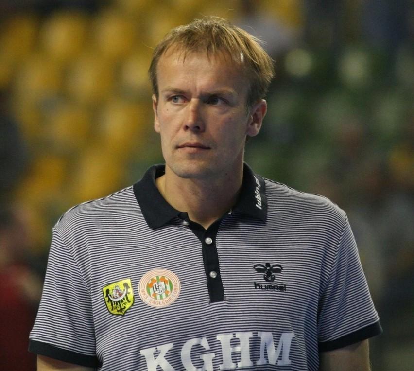 Jacek Będzikowski jeszcze jako trener Zagłębia Lubin.