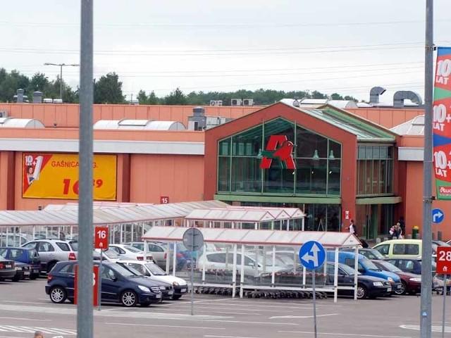 CH Auchan Produkcyjna w Białymstoku