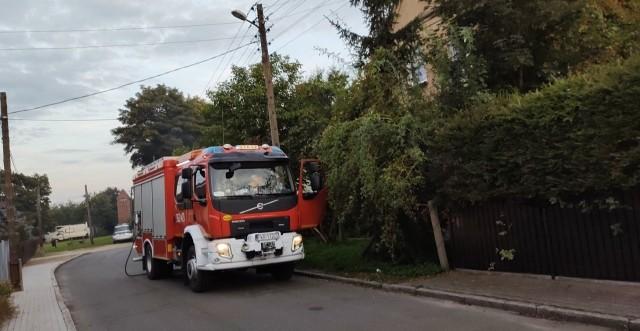 Straż pożarna interweniowała w Gubinie. Mieszkańcy palili śmieci.