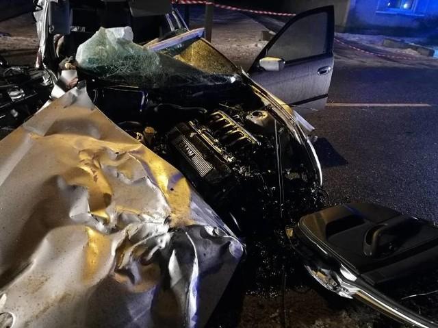 Wypadek w Sieroszewicach wyglądał bardzo dramatycznie