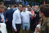 """Premier Mateusz Morawiecki gościem pikniku rodzinnego w Kaliszu. """"Dzieci są przyszłością narodu"""""""