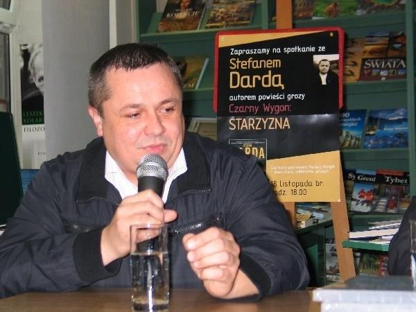 - Przemyśl to fantastyczne miejsce. Planuję w tym mieście osadzać akcje moich przyszłych książek – mówi pisarz Stefan Darda.