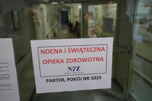 Nie tylko Szpital Miejski i Wojewódzki Szpital Zespolony. Od soboty nocą i świąteczną opiekę zdrowotną zapewniają dwa dodatkowe miejsca. To UDSK i Szpital MSWiA.