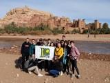 Młodzież z I LO w Zielonej Górze w... Marrakeszu. Dlaczego? [ZDJĘCIA]
