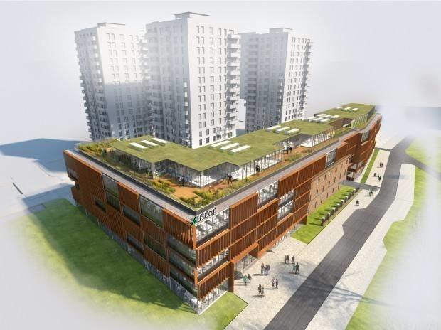 Wizualizacja Bastionu Wałowa