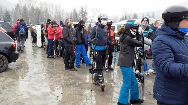 W sobotę 6 lutego stoki narciarskie w Wiśle i Szczyrku przeżywały oblężenie. W ten weekend pewnie będzie podobnie