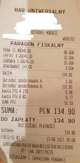 Ile kosztują wakacje nad Bałtykiem? Zobaczcie paragony i...
