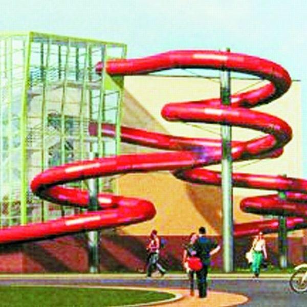 Tak będzie wyglądała pływalnia, która - jak wszystko pójdzie dobrze - zostanie oddana do użytku jesienią 2010 roku. Stanie przy ul. Witosa, obok stadionu Miejskiego Ośrodka Sportu i Rekreacji.