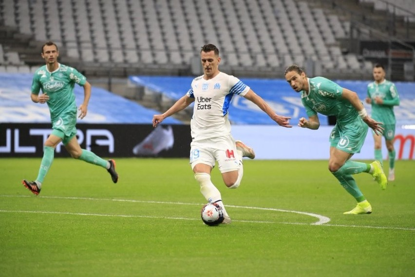 Hat-trick Arkadiusza Milika z Angers