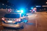 Śmiertelny wypadek na S8 koło Łodzi. BMW dachowało w pobliżu węzła A1