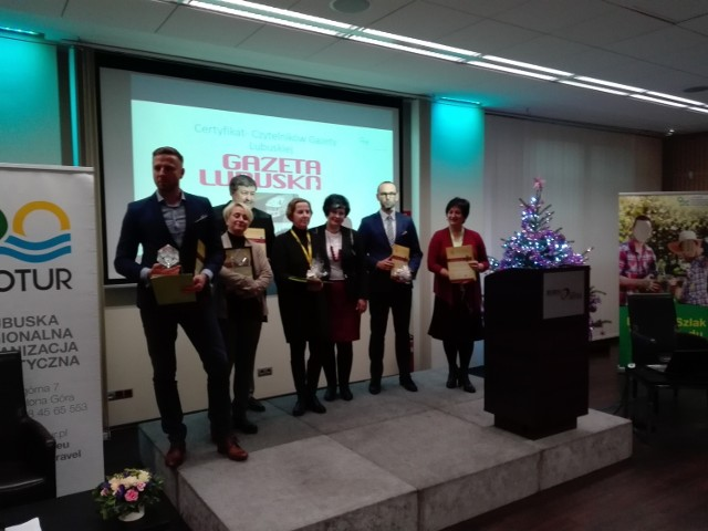 Laureaci konkursu - regionalny konkurs na najlepszy produkt turystyczny - o Lubuską Perłę Turystyczną.