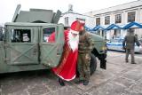 Kraków. Mundurowy festyn św. Mikołaja w szpitalu [ZDJĘCIA]