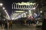 Iluminacja warta kilka milionów złotych rozświetliła Piotrkowską. Nie dało się przecisnąć przez ten tłum! ZDJĘCIA