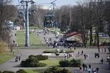 Słoneczna sobota w Parku Śląskim przyciągnęła tłumy