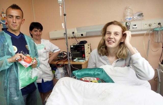 Agata Mróz potrafiła cieszyć się życiem jak mało kto. Nawet w szpitalu nie traciła uśmiechu
