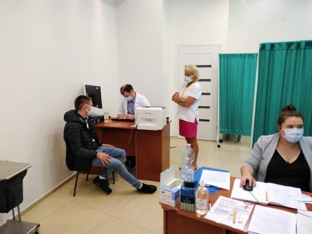 Weekendowe szczepienia w Centrum Handlowym Alfa w Białymstoku.