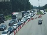 Tłok na autostradzie A1. A może wybrać alternatywną drogę?