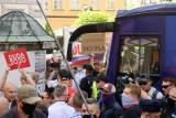 Końskie: starcie zwolenników Dudy i Trzaskowskiego